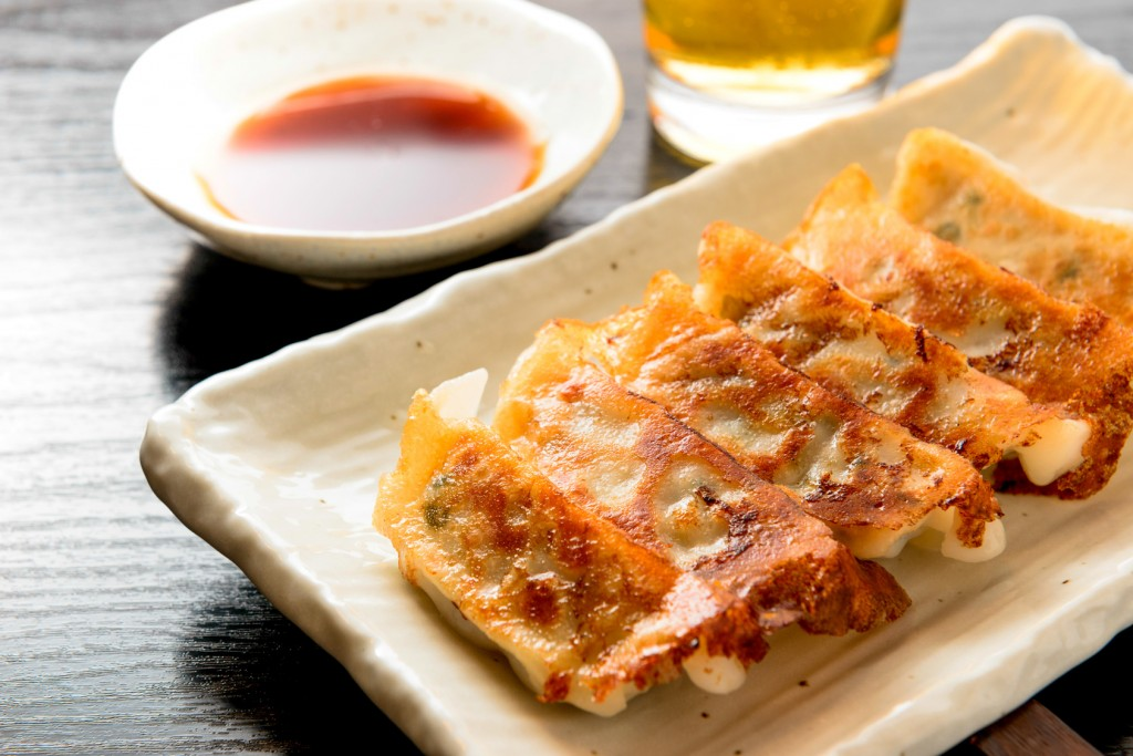 japanese food, gyoza