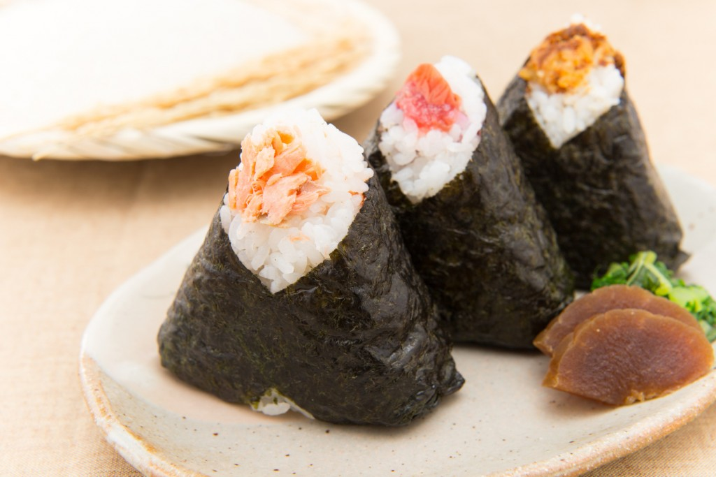 japanese food, onigiri