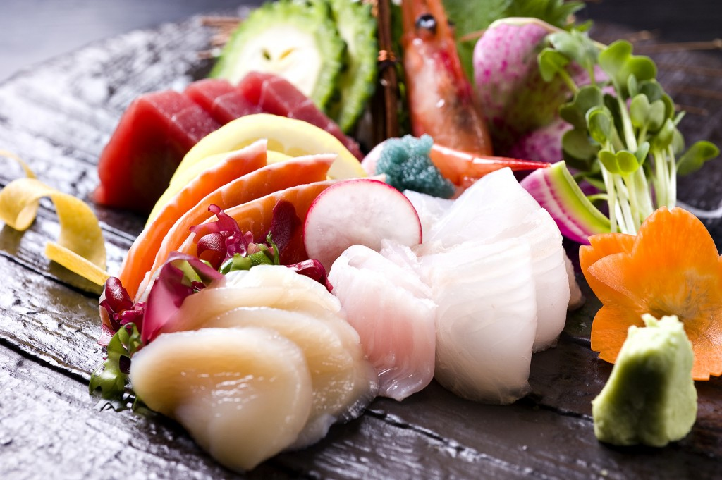 sashimi, japanese food
