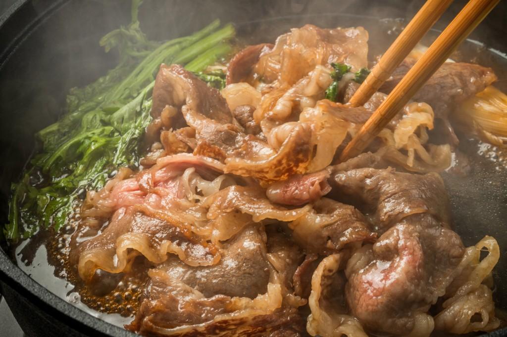 sukiyaki, japanese food