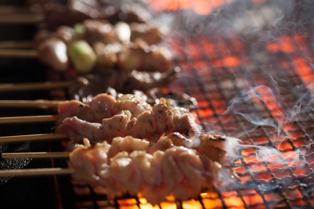 japanese food, yakitori