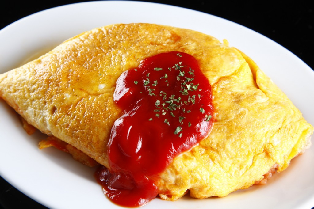 omurice, japanese food