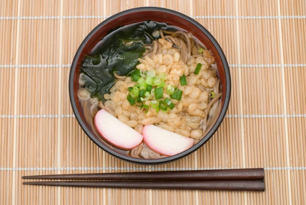 Tanuki soba, Japanese food