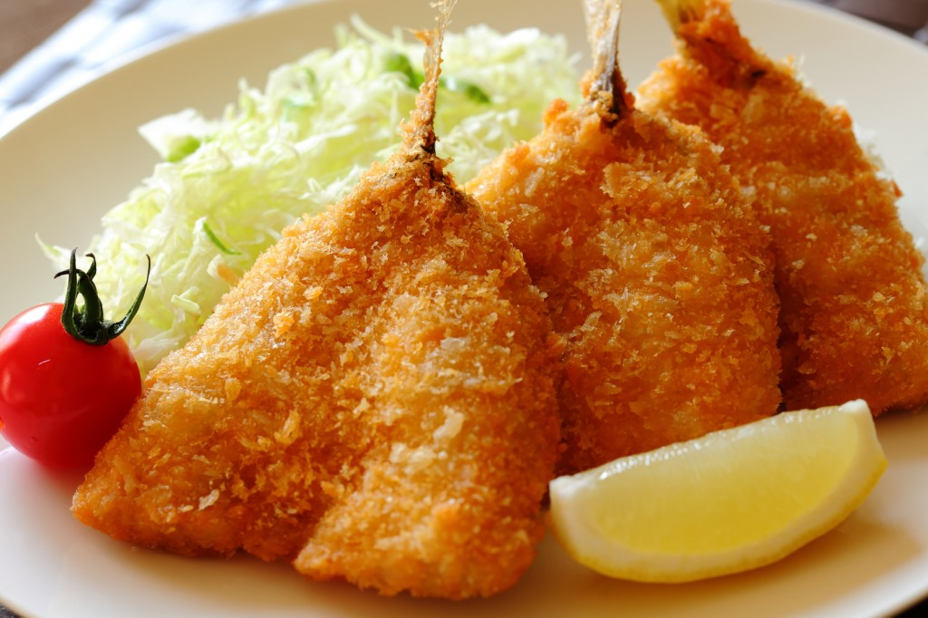Aji Fry, Japanese food