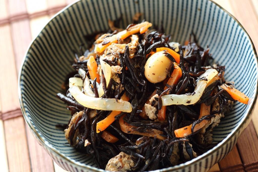Hijiki no Nimono, Japanese food,