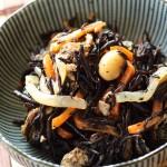 Japanese Food  100 – #57  Hijiki no Nimono