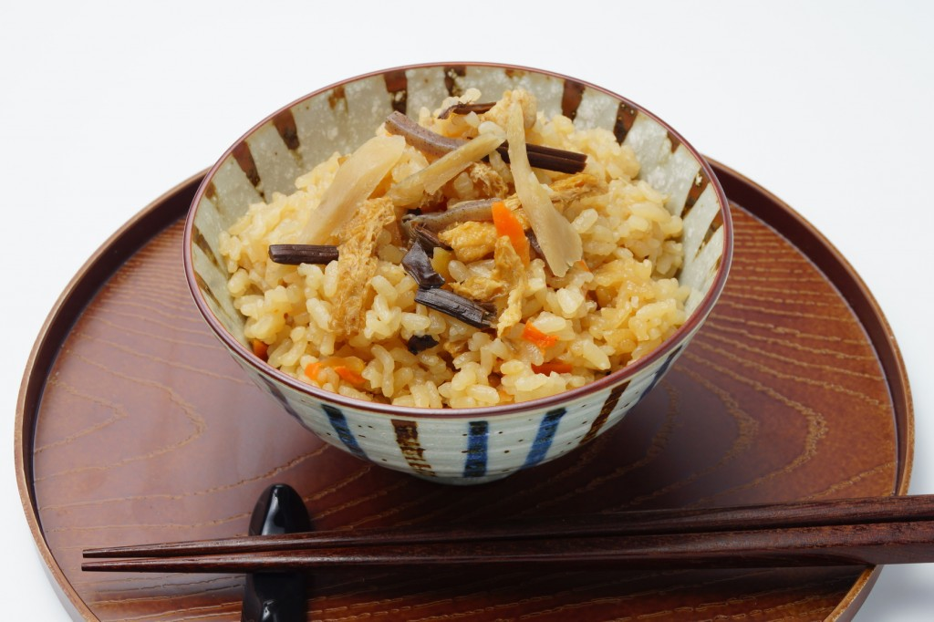 Kayakugohan, Japanese food