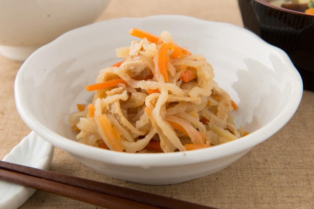 Kiriboshidaikon no nimono, Japanese food