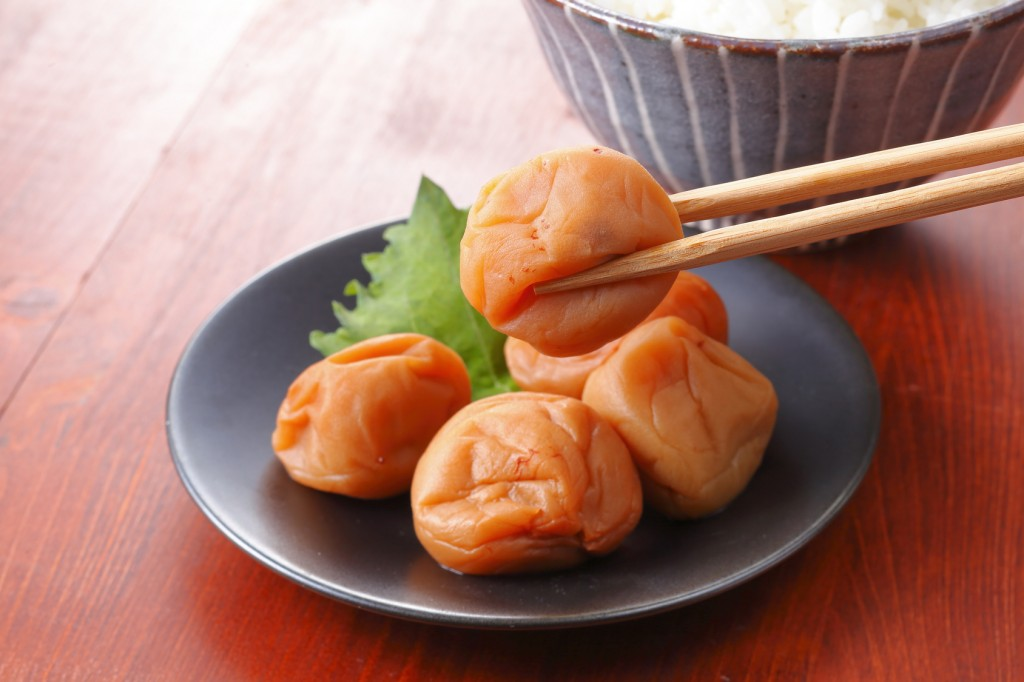 Umeboshi, Japanese food
