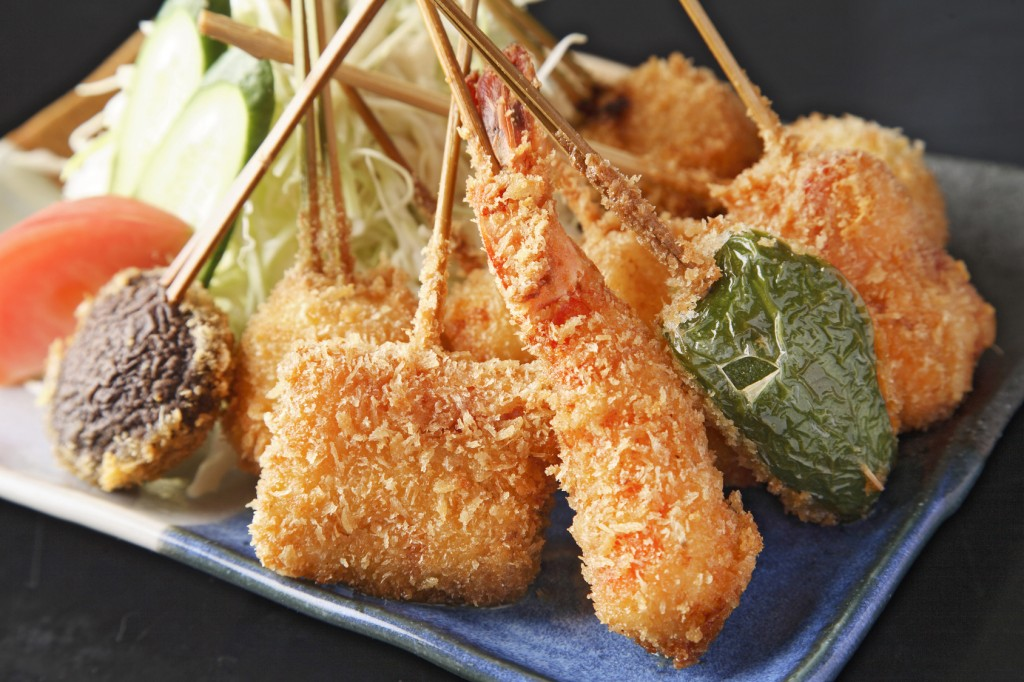 Kushikatsu, japanese food