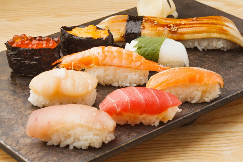 japanese food, sushi