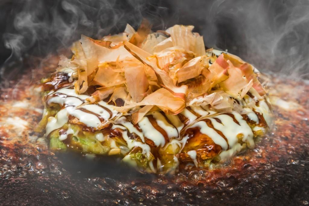 okonomiyaki, japanese food