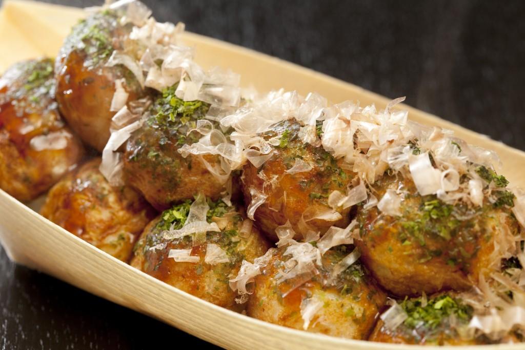 takoyaki, japanese food