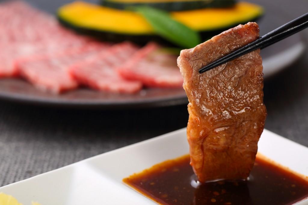 yakiniku japanese food