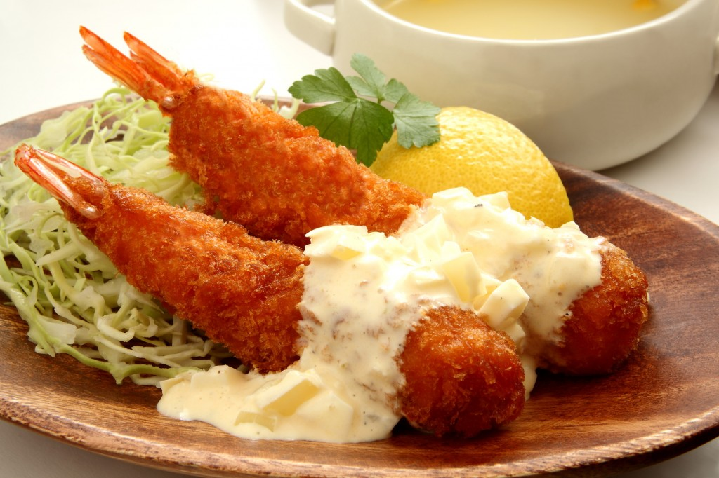 ebi fry, japanese food