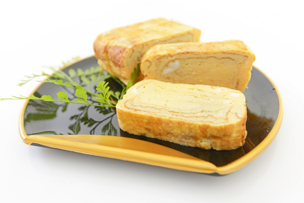 tamagoyaki, Japanese rolled omelet, Japanese food