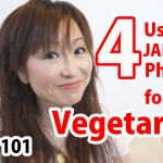 4 Useful JAPANESE Phrases for Vegetarians  [Japan Guide]