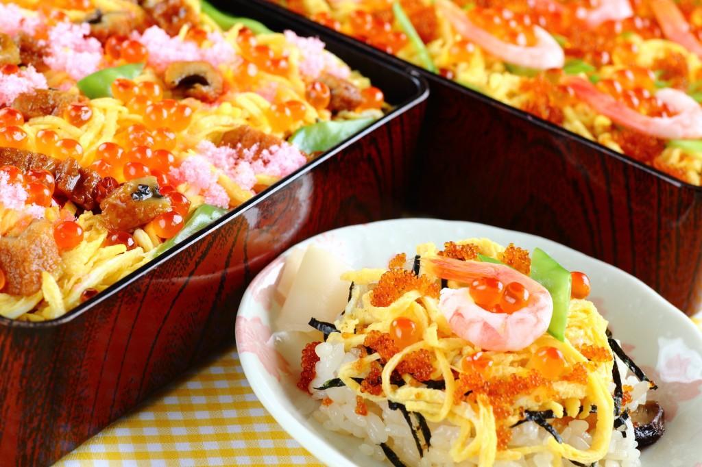 Chirashizushi, Japanese food