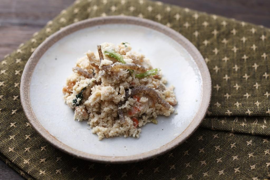 Unohana, okara, Japanese food