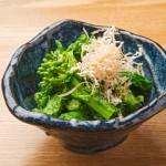 Japanese Food  100 –  #70  Ohitashi