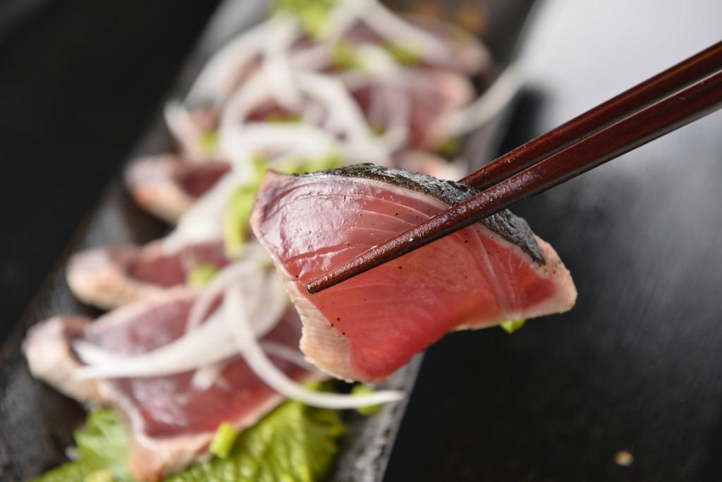 Katsuo no Tataki, Japanese food