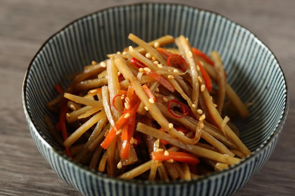 Kimpira Gobou, Japanese food, washoku