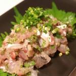 Japanese Food  100 – #75  Aji no Tataki